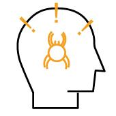 Symbolgrafik zu Befindlichkeit: Phobien